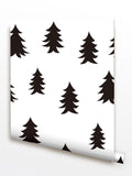 Norway Wood Forest - Natural Trees Wallpaper -prt0062