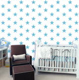 Five Stars Wallpaper -Modern Nursery Wall Murals prt0063