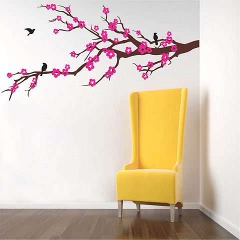 Properous Cherry Blossom-Wall Decal