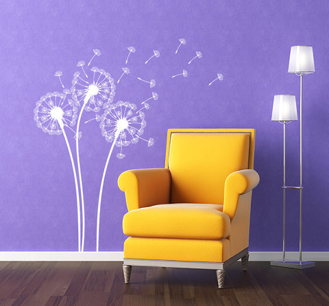 Dandelions Flower Wall Decal - PopDecors,Wall Decal, Pop Decors, PopDecors
