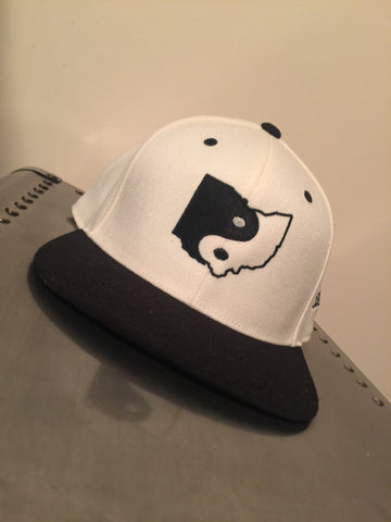 Black & Off White YingOhio Hat