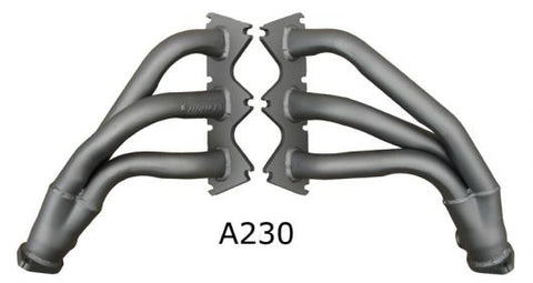 Advance Headers to Suit VZ Commodore, WL Statesman & Crewman 2WD in mild steel