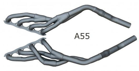 Advance Headers to suit Mustang 64 ½ - 66 & Compact Fairlane 62 - 65 Mild Steel