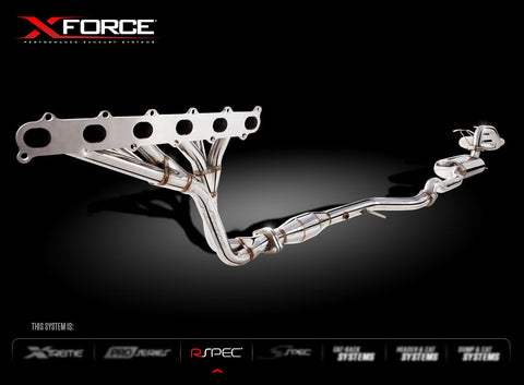 X FORCE ENGINE BACK SPORTS EXHAUST FG FALCON SEDAN N/A 2008+ - Exhaust Systems Direct