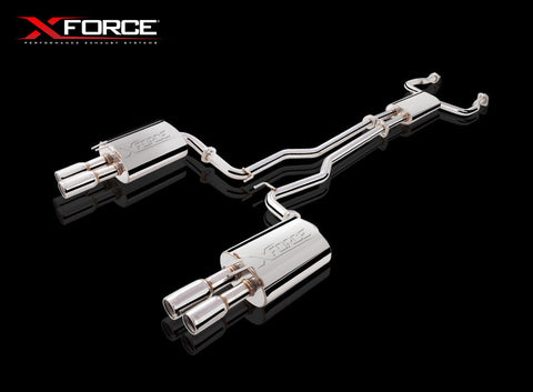 X FORCE SPORTS EXHAUST HOLDEN VE/VF SS SEDAN/WAGON/UTE WITH VAREX 2006 ON - Exhaust Systems Direct