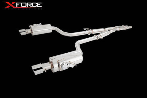 X FORCE SPORTS EXHAUST CHRYSLER 300C SRT8 2012- - Exhaust Systems Direct