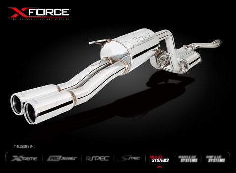 X FORCE SPORTS EXHAUST TO SUIT FG XR6 TURBO FALCON UTE 2008+ - Exhaust Systems Direct