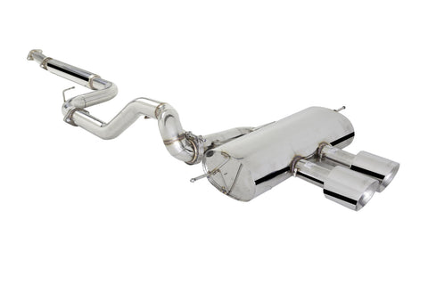 "X Force 3"" Cat Back Sports Exhaust with Varex to suit Ford Focus ST Turbo 2013 on"