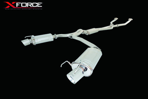 X FORCE LEXUS IS350 2009-04/2013 STAINLESS STEEL SPORTS EXHAUST (VAREX OPTION AVAILABLE) - Exhaust Systems Direct