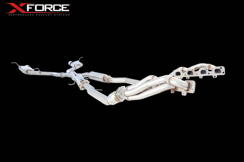 X FORCE ENGINE-BACK EXHAUST SYSTEM STAINLESS STEEL - Exhaust Systems Direct