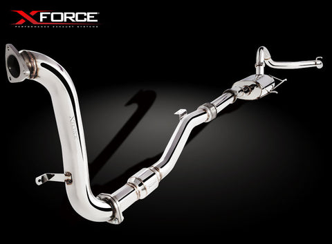 X Force Nissan Patrol NY61 3.0ltr TD Turbo Back Sports Exhaust - Exhaust Systems Direct