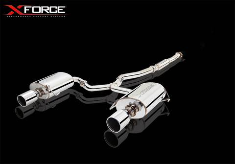 XFORCE Subaru Liberty 3.0L (H6) 6CYL N/A 2004-2009 Cat Back Sports Exhaust