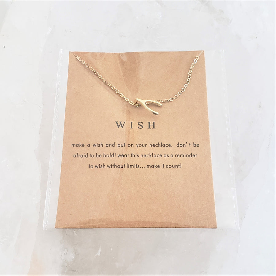 Wish Pendant Necklace - Mala & Me- Gemstones with beautiful geometric pendents inspired by nature- Jewlery used for meditation, setting intentions and enhancing your yoga practice. Each gemstone holds unique healing properties