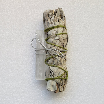 Cleansing Bundle (Sage and Selenite)