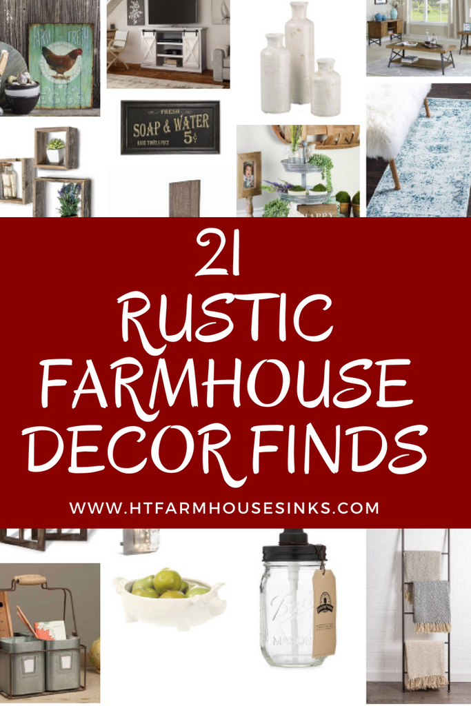 21 Rustic Farmhouse Country Decor Ideas
