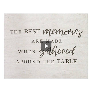 """Best Memories"" Family Wall Art - Hen & Tilly"