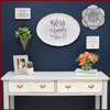 """Bless The Family"" Wall Decor - Hen & Tilly Farmhouse Sinks"