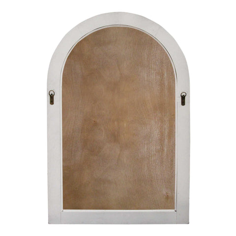 Image of Distressed White Arched Farmhouse Chalkboard - Hen & Tilly