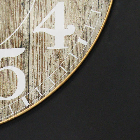 Image of Kensington Station Rustic Wall Clock - Hen & Tilly Farmhouse Sinks