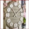 Bubble Thoughts Happy Wall Clock - Hen & Tilly Farmhouse Sinks