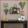 Decorative Wallscape Shelf and Storage Box - Hen & Tilly Farmhouse Sinks