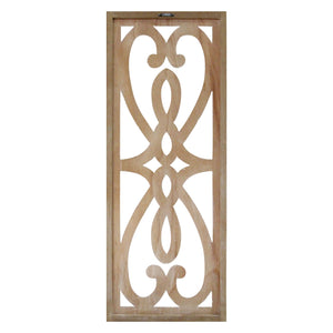 Hearts and Fleur Decorative Wood Panel - Hen & Tilly