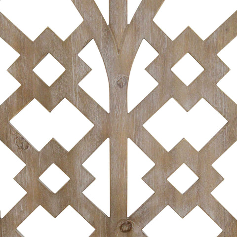 Rustic Wooden Cathedral Arch Wall Decor - Hen & Tilly