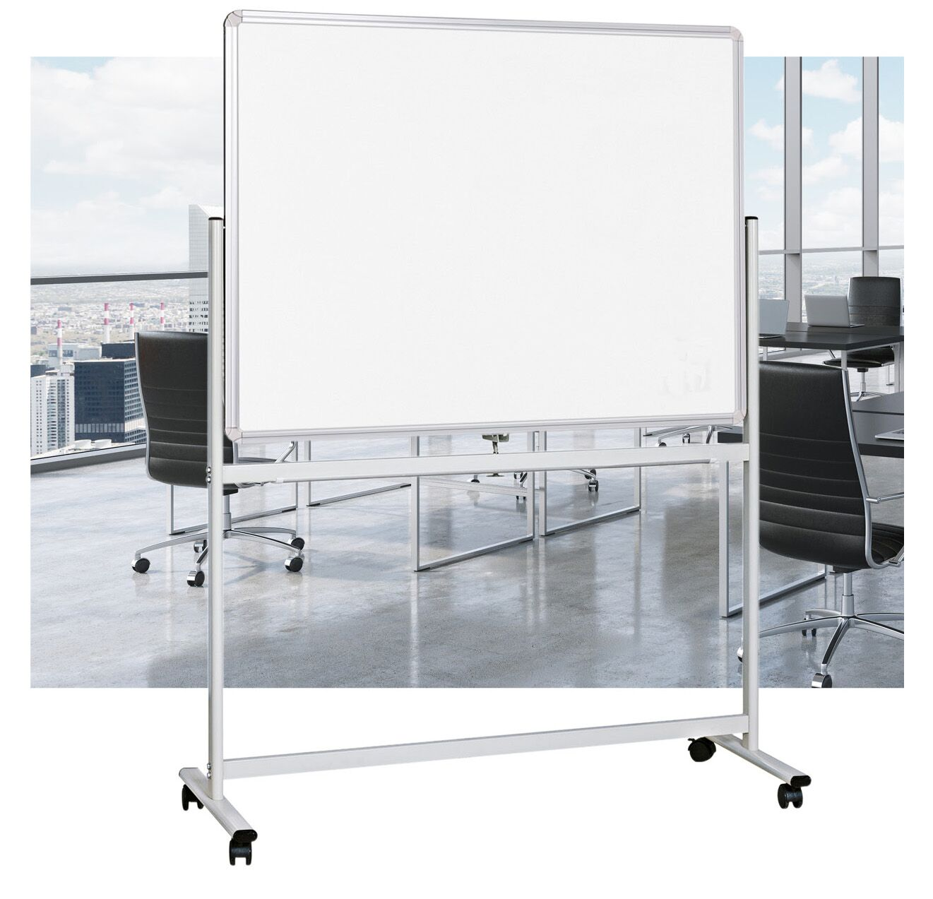 Double Sided Whiteboard