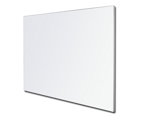 Porcelain Whiteboard LX Edge Frame Powder Coated in White