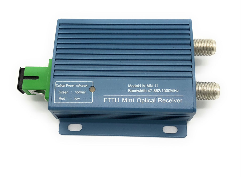 CATV Mini 1 Way Optical Fiber Node - Forward Only - FTTH 1310nm