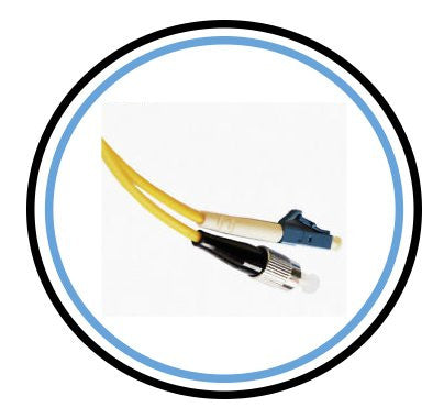 5M Single-Mode SIMPLEX FC to LC Patch Cable