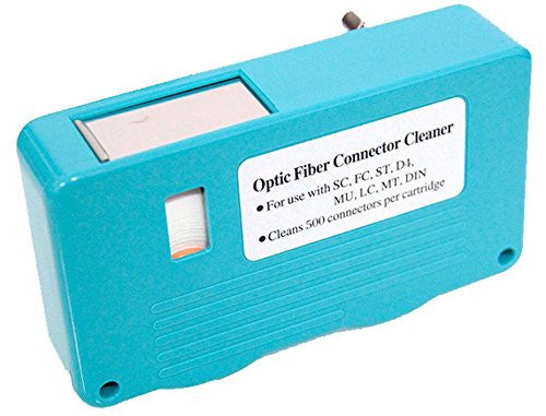 FTTH Fiber OPtic Cleaning Box For Single-mode / Multi-mode Optical Connectors