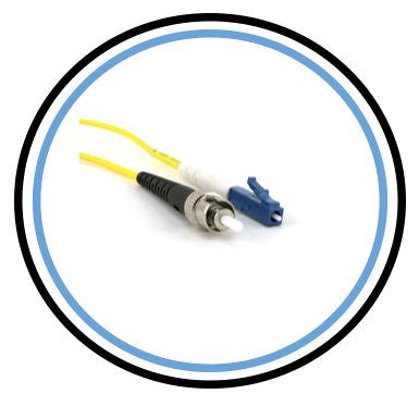 1M Single-Mode SIMPLEX LC to ST Patch Cable