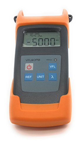 Premium Handheld Fiber Optic Power Meter with in-built 10mW VFL