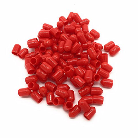 ST Dust Caps for Fiber Optic Devices, Cables and End faces - 100-pack