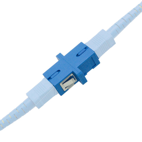 SC to SC Couplers - SC Fiber Optic Coupler - 10 Pack - Quick connect SC Couplers