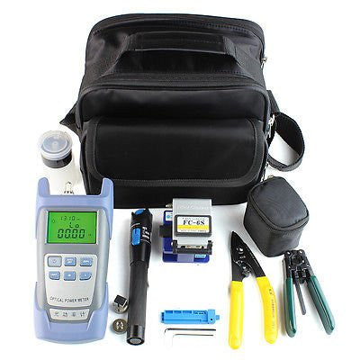 9-In-1 FTTH Fiber Optic Tool Kit