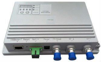 Agile FTTH CATV Fiber Receiver with Fwd-Rev-Attn