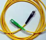 1M Single-Mode SC/APC to ST Simplex Patch Cable