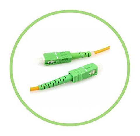 20M Single-Mode SC/APC to SC/APC Simplex Patch Cable
