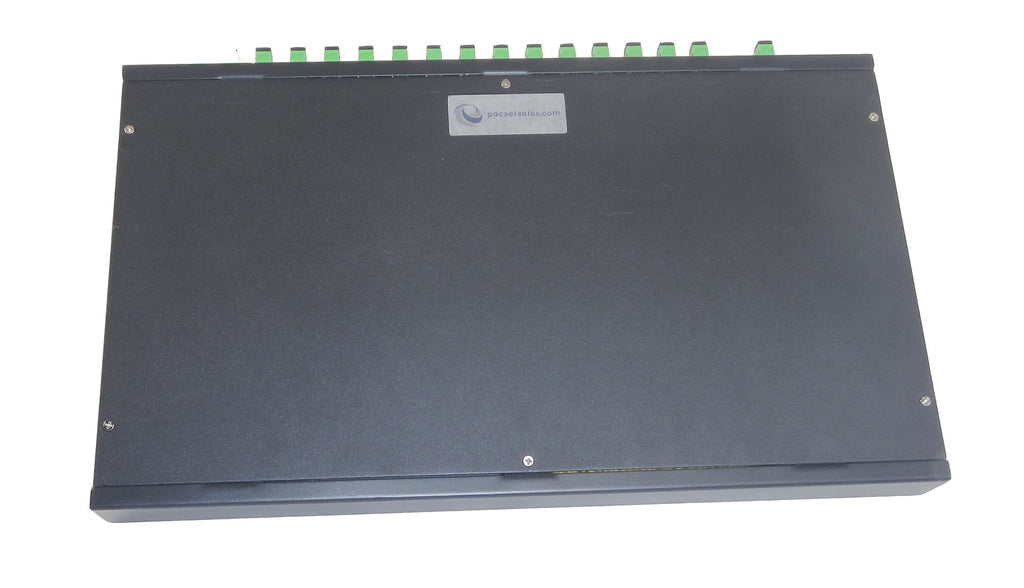 1 x 16 Rack Mount PLC Single-Mode Fiber Optical Splitter