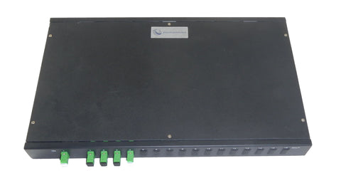 1 x 4 Rack Mount PLC Single-Mode Fiber Optic Splitter