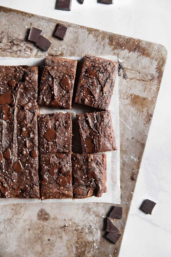Summer Dish // The Good For You Brownie