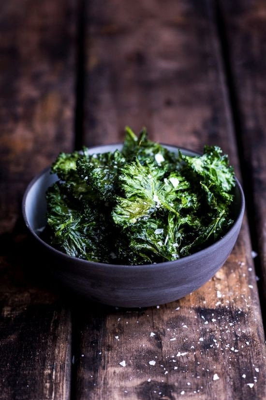 Monday Meals // Kale Chips