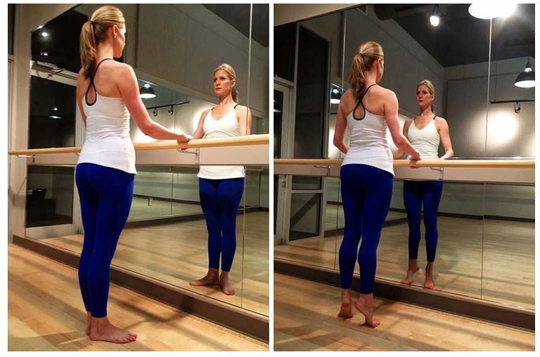 Weekend Workout: How to get dancer's legs