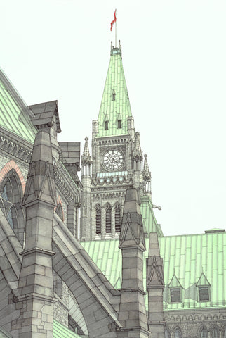 """Four Thirty-Two"", Parliament, Ottawa, Ontario"