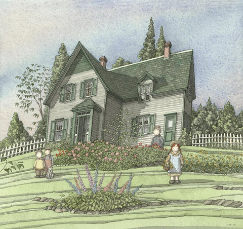 """In the Garden"", Green Gables, Cavendish,P.E.I."