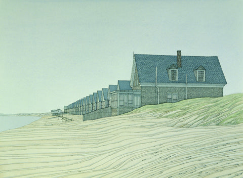 """Day's Cabins"", Provincetown, Cape Cod"