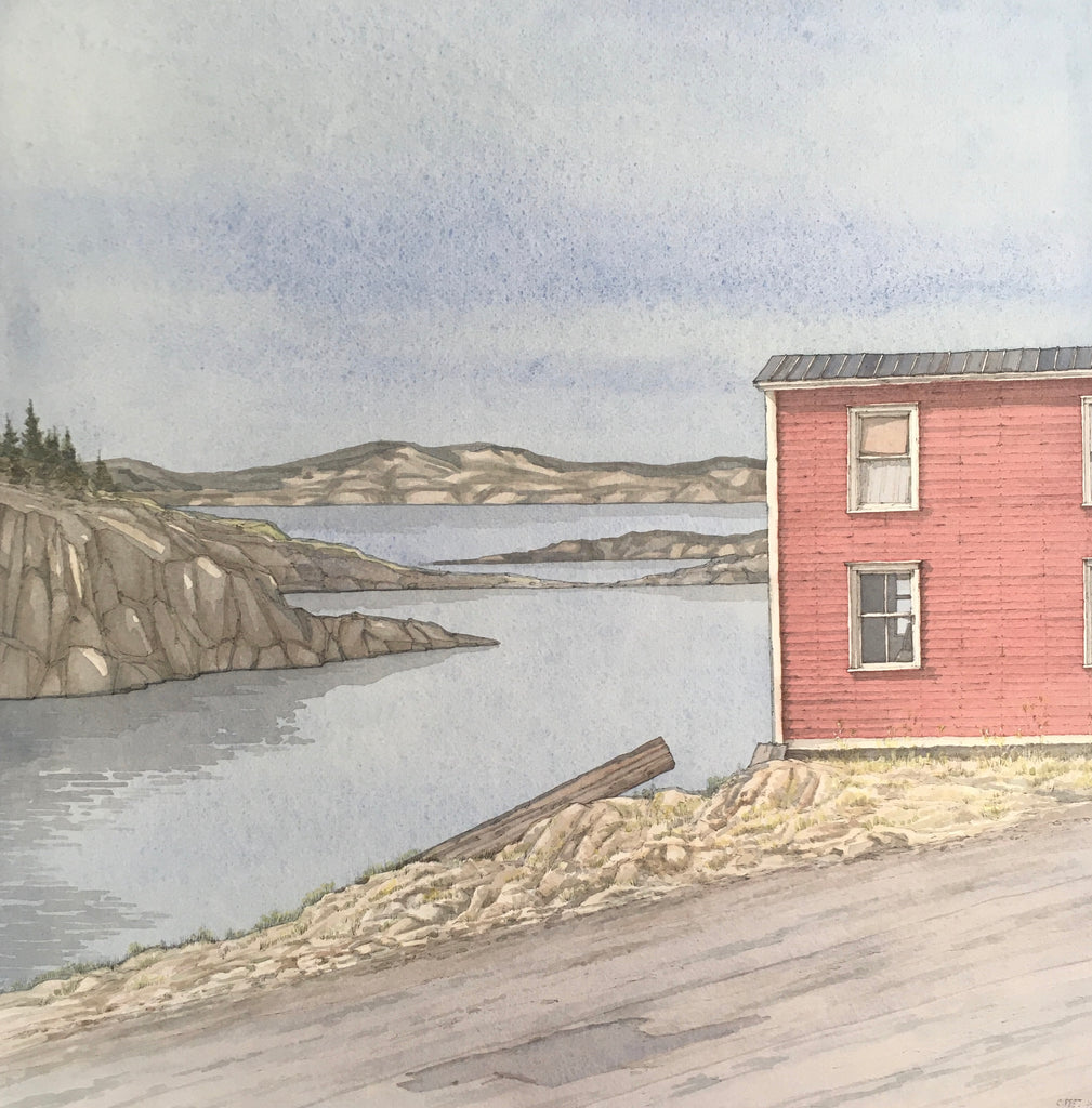 """Little Red"",Fogo Island, Newfoundland"