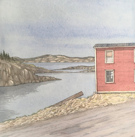 """Little Red"", Fogo Island, Newfoundland"